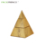Creative Custom Made Paper Cardboard Woman Triangle Ornament Gift Packaging Display Pyramid Jewelry Kits Box