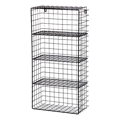 smeta approved factory wire metal wall rack black powder coated metal wall rack buy industrial metal wall rack grande black powder coated metal wall