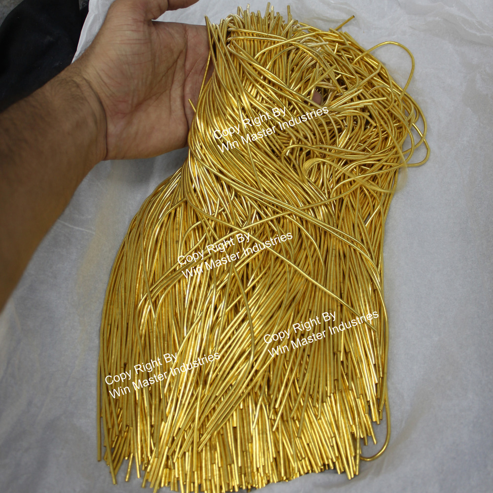 Rough Purl Bullion Silver French Metal Bullion wire For Metal Thread Embroidery
