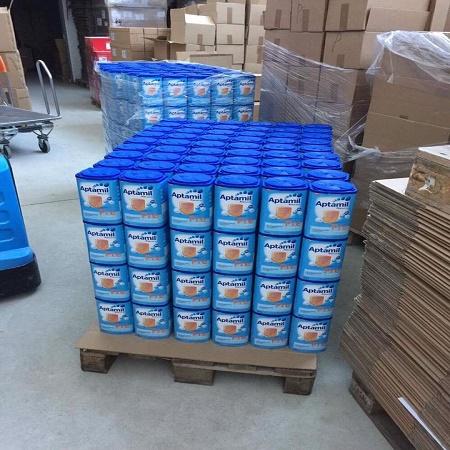 Aptamil детское молоко этап 1,2,3 доступны для срочной доставки