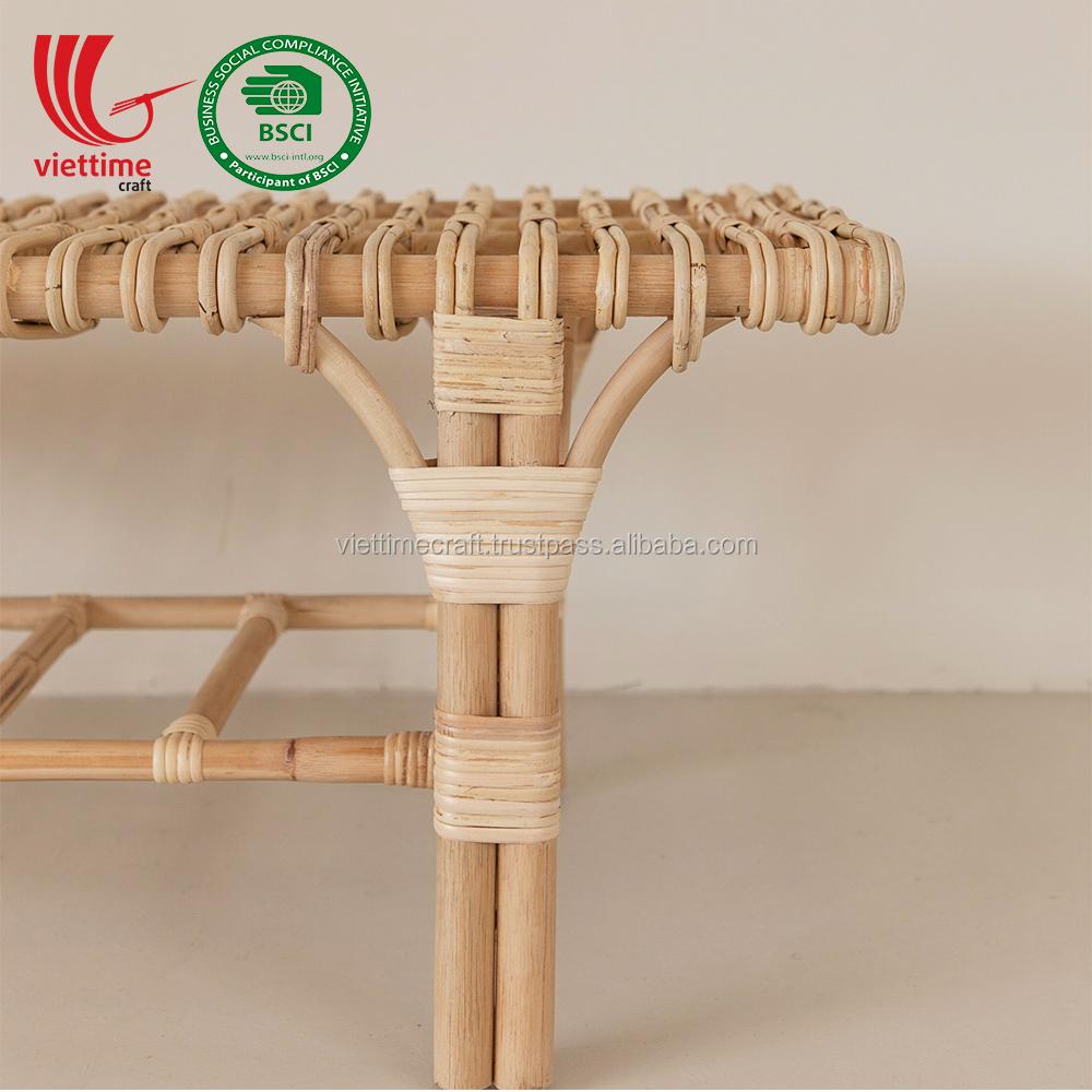 Классический ротанговый скамейный стул, оптовая продажа, сделано во Вьетнаме