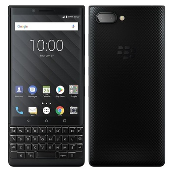 BlackBerry KEY2 Dual Sim 4.5'' Black Silver 64GB 6GB RAM Android 8.1 Phone