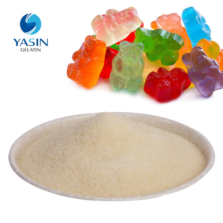 halal condensed nice gelatin for candy making