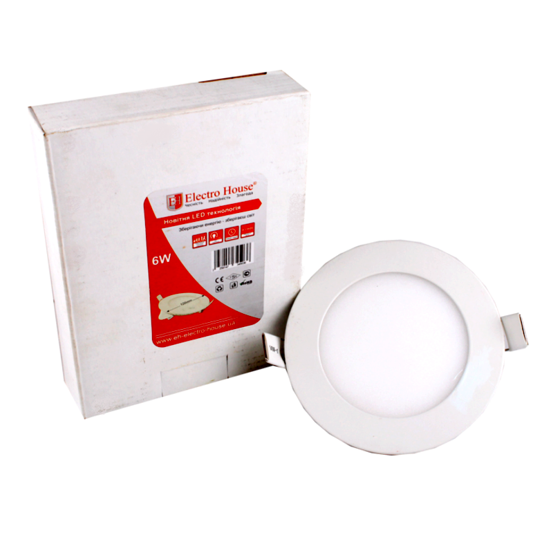 LED Panel Lights round square 6W 120mm LED Panel Lights LED Residential Lighting ceiling slim cool white round square led panel