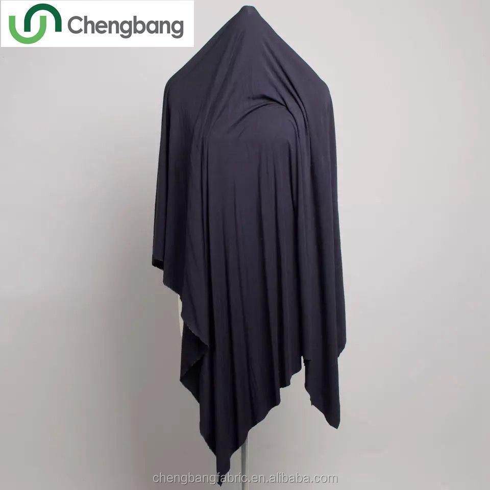 Chengbang Knitting Manufacture 50% modal 50% cotton single jersey drape modal fabric for undershirt