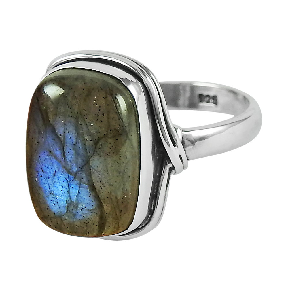 Gemstone jewellery gemstone jewelry Labradorite gemstone ring Sterling silver Labradorite ring