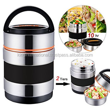 Heating lunch tiffin box keep food hot for delicious food