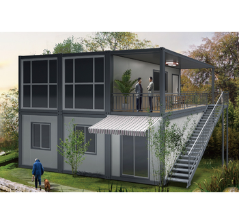 Easy Assemble Steel House Modular Homes Prefabricated for living and office, store house, house building