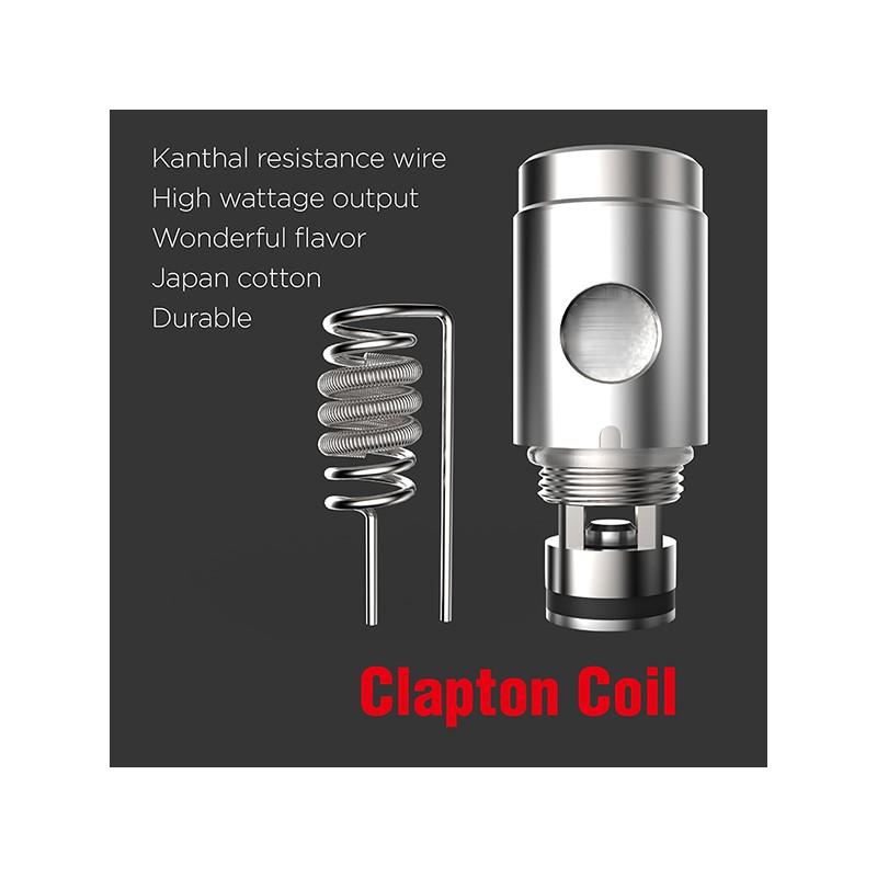 Kanger subtank Clapton Coil, electronic cigarette tank clapton coil