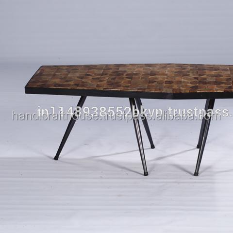 Industrial Vintage Indian Solid Block Wood Iron Metal Hexa Coffee Table Buy Hexagon Wood Coffee Table Extra Long Coffee Table Solid Wood Slab Coffee Tables Product On Alibaba Com