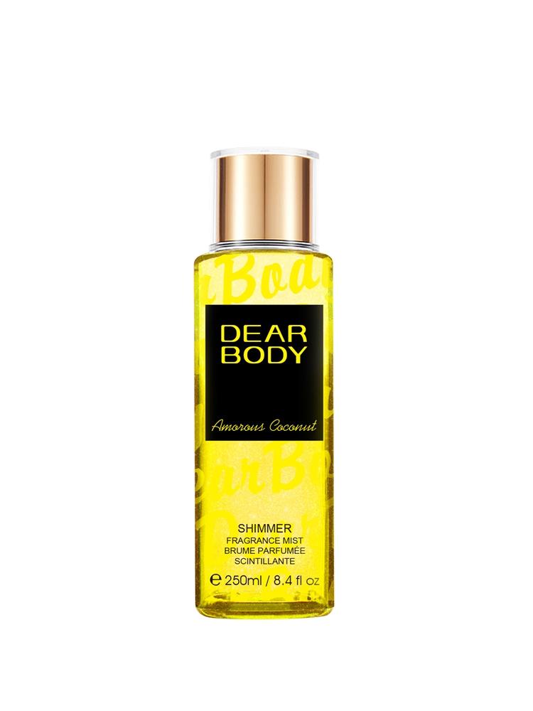 Newest Dear body brand 250ml shimmer fragrance mist beautiful design