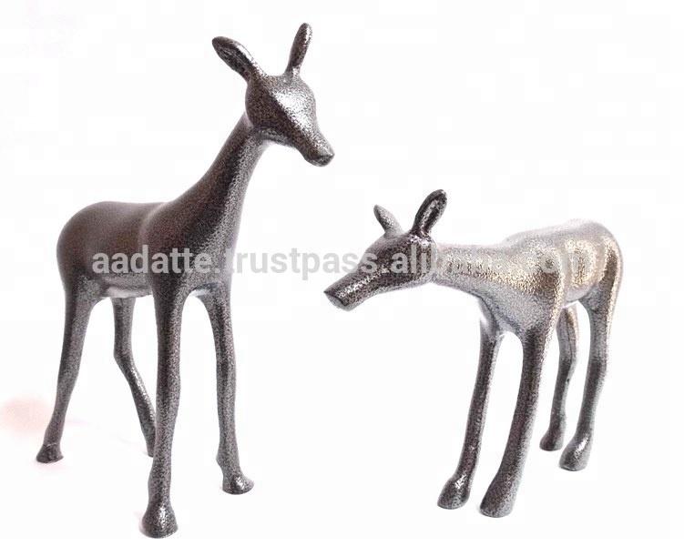 Deer Figurine Set Aluminium Home Decor Figurine Buy White Deer Figurine Glass Deer Figurines Deer Figurines Product On Alibaba Com