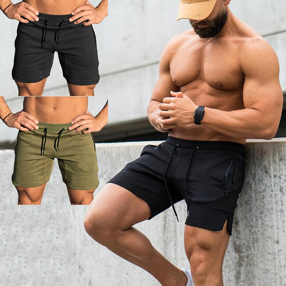 Mens Sports Training Bodybuilding Summer Shorts Workout Fitness GYM Short Pants/&