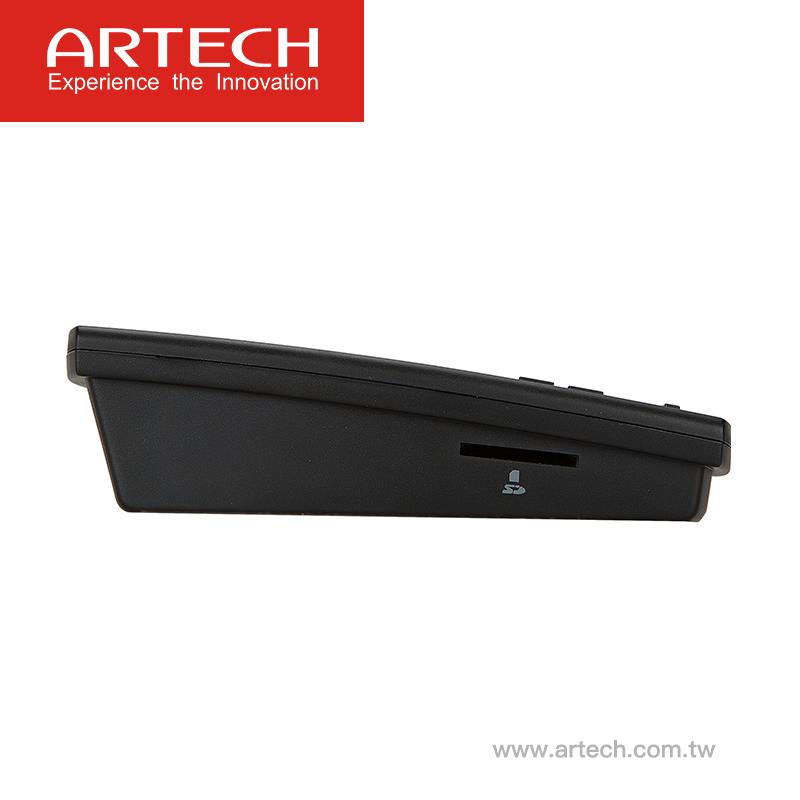 ARTECH DUET/AR120, SD-карта, телефонный рекордер с автоответчиком, простая и интеллектуальная эксплуатация