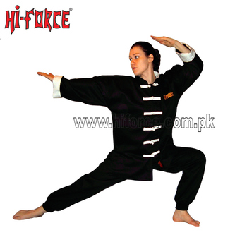 Unisex Martial Arts Uniform Kung Fu Suit Costume Tai Chi kimono