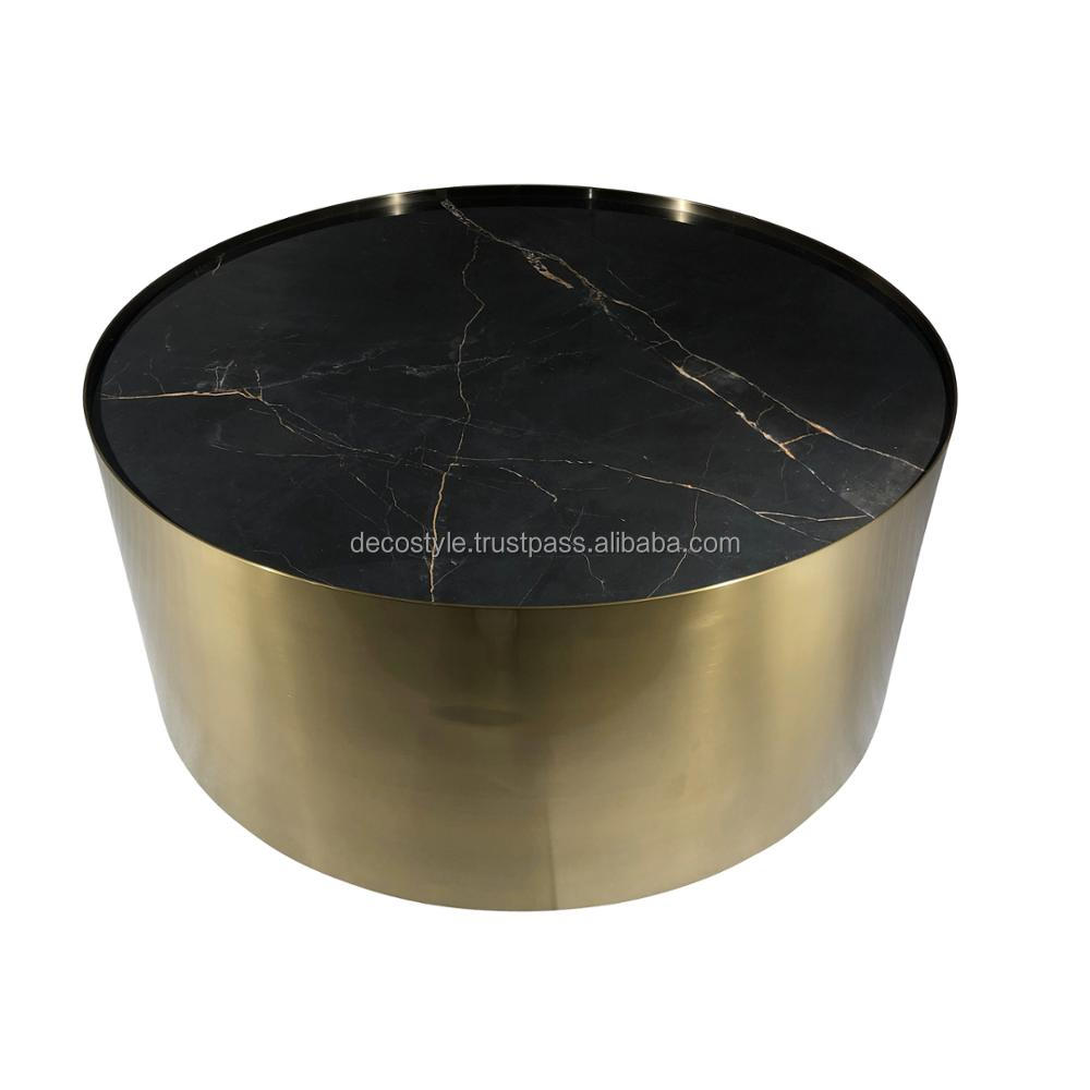 Brass Drum Coffee Table Buy Brass Drum Coffee Tables India Brass Inlay Coffee Table Modern Coffee Table India Product On Alibaba Com