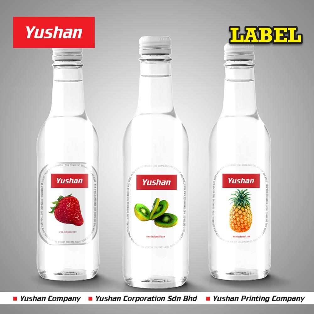 Self Adhesive Vinyl Printing Label Printing For Bottles