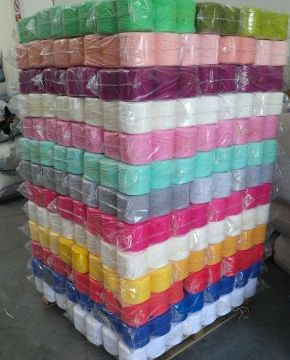 Spaghetti Yarn for Knitting Cheap Recycled Yarn Ribbon Yarn