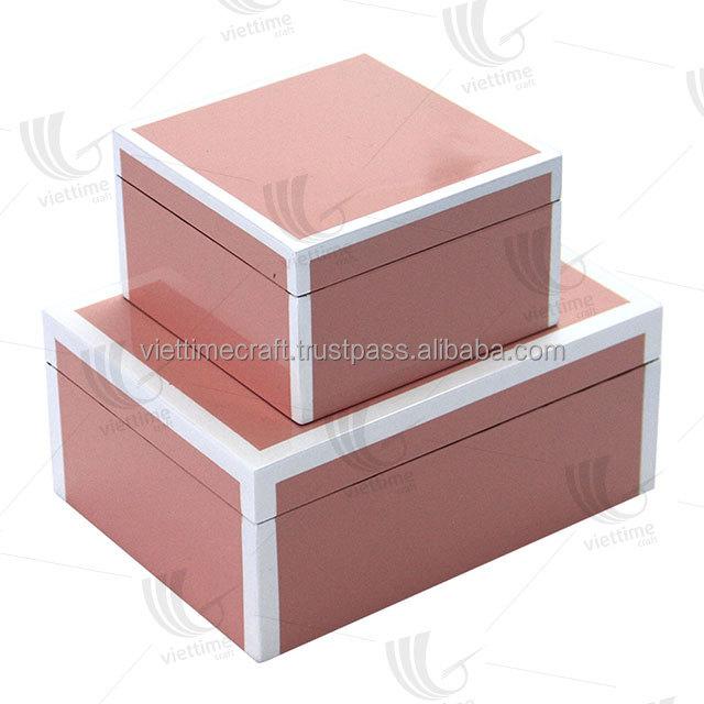 Лакированная коробка/шкатулка для драгоценностей