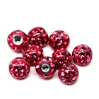 316 stainless steel body jewelry disco externally threaded ball labret