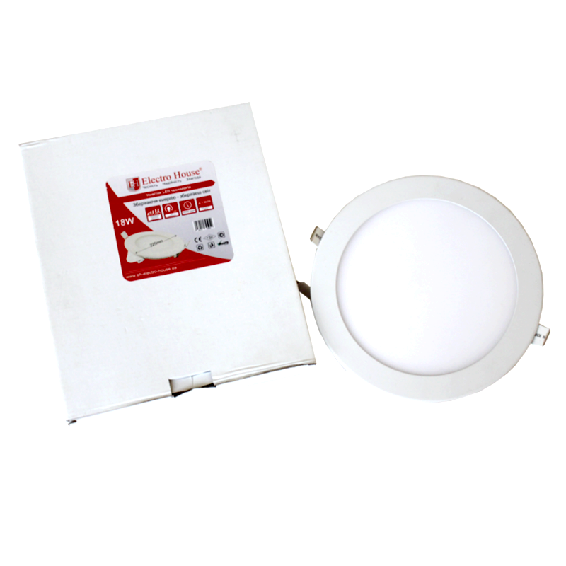 LED Panel Lights round square 18W 225mm LED Residential Lighting High lumen surface mounted round ceiling led panel light 18w