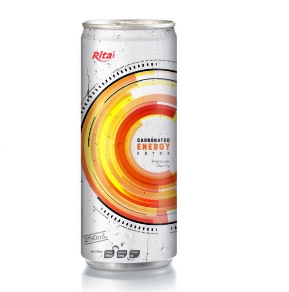 Индивидуальный вкус вьетнамский производитель Rita, 250 мл, тонкий консервированный газированный энергетический напиток КБД
