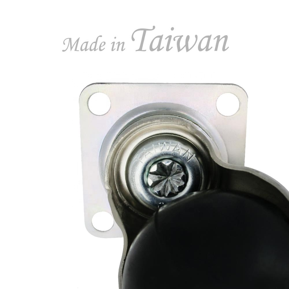 CCE Caster 50mm Small Rollers Furnitures PP Plastic Ball Wheels