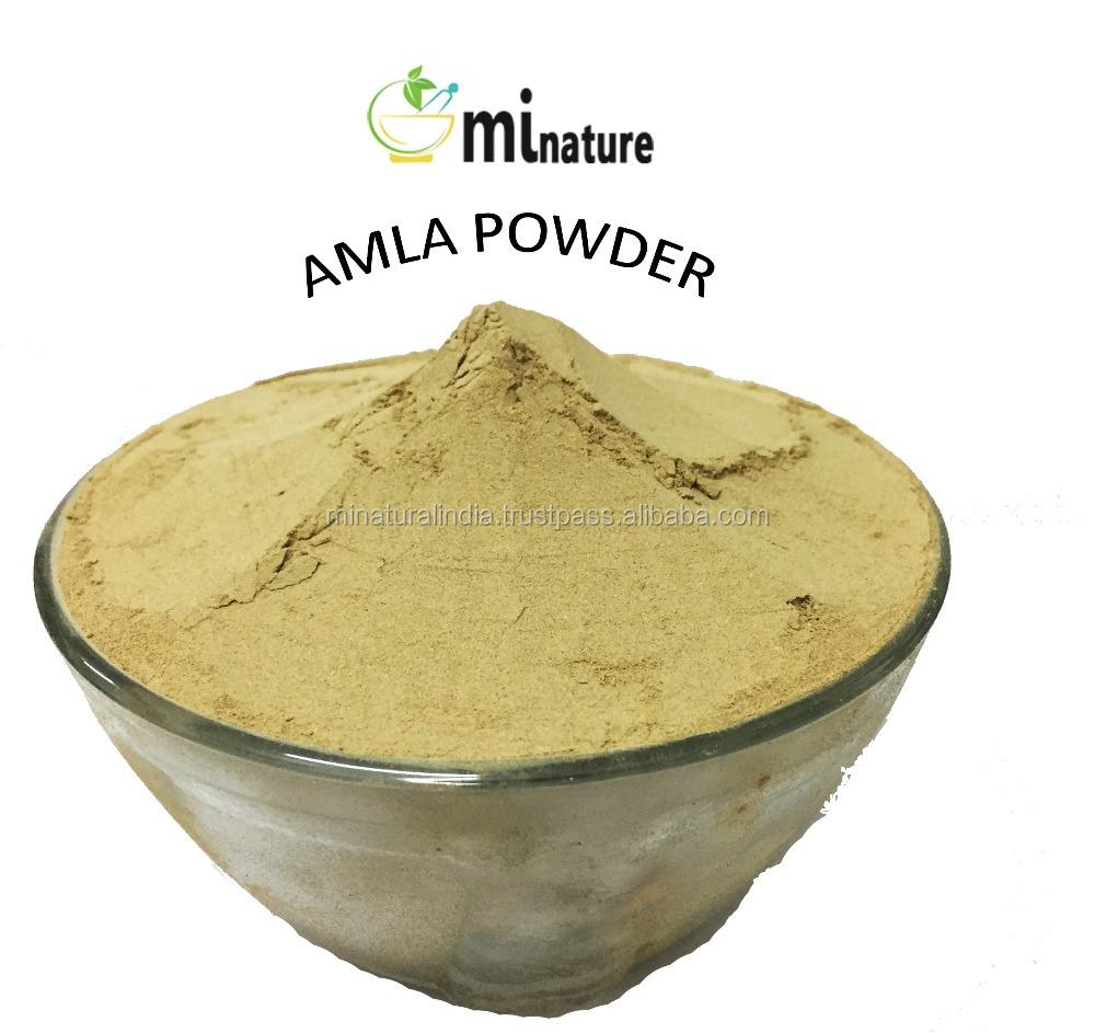 USDA органический Сертифицированный порошок Amla