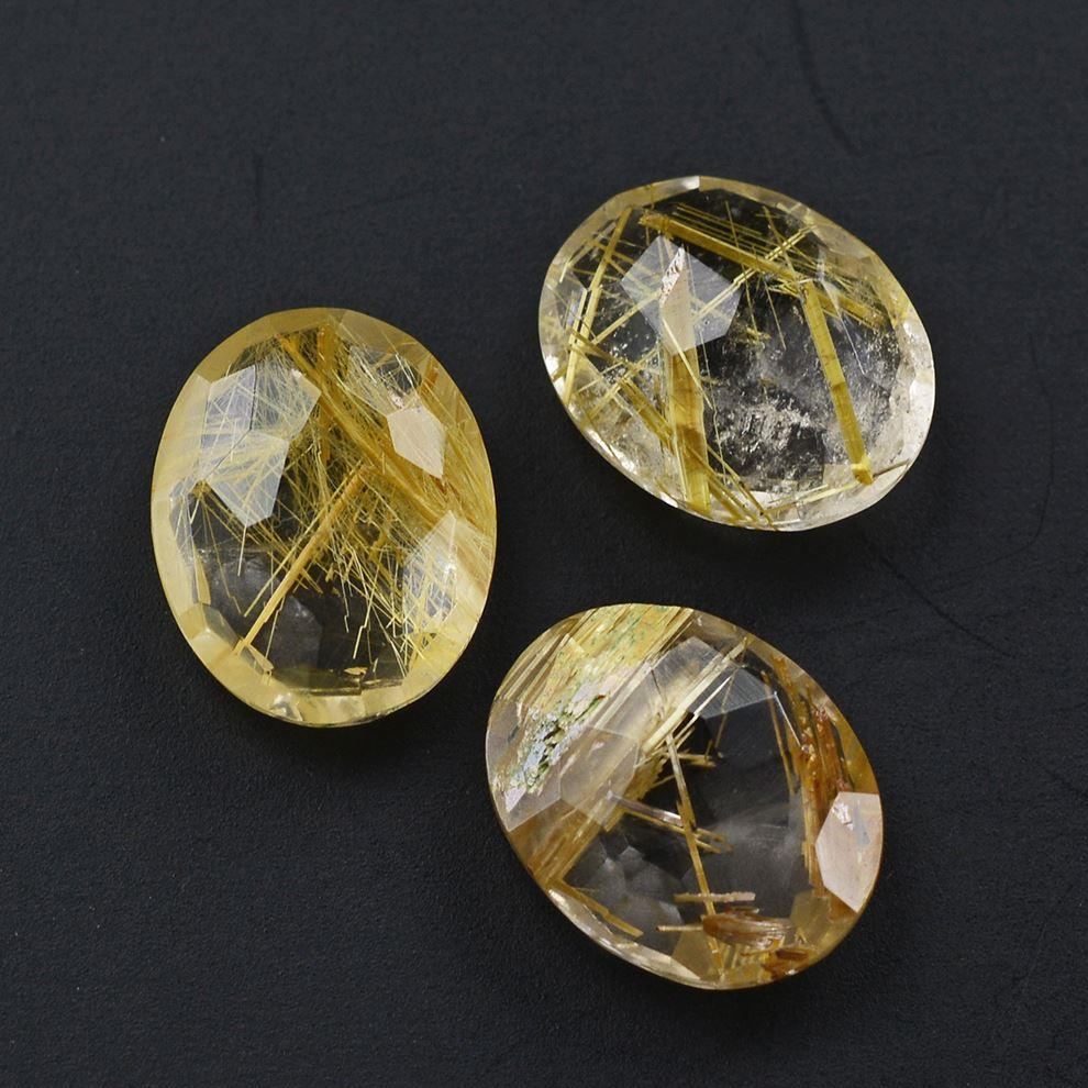GOLDEN RUTILE QUARTZ 100/% Natural Golden Rutile Cabochon Loose Gemstone For Wire Wrapping Jewelry Rutile Pendant Rutile Ring Jewelry IN160