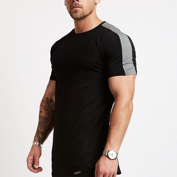Man Clothes Wholesale Sport Bulk Blank Casual T-Shirt Low Moq Organic Cotton Gym T Shirt For Mens