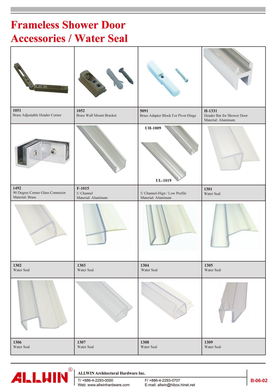 Waterproof PVC Bathroom Shower Glass Door Strip Magnetic Door Wipes and Water Seals