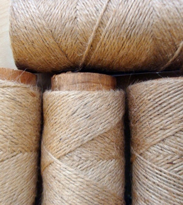 High quality Natural color Jute Yarn