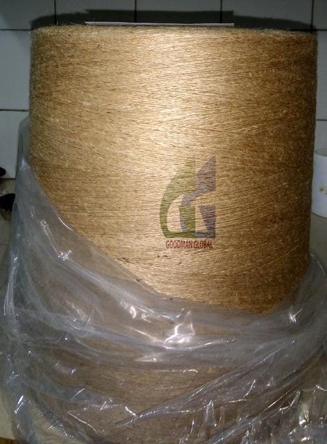 8 LBS 1 PLY 100% TOSSA CB QUALITY JUTE YARN Eco-friendly Hand Knitting Single Yarn Natural Jute Color CB Special GG8LBS1PLY Spun