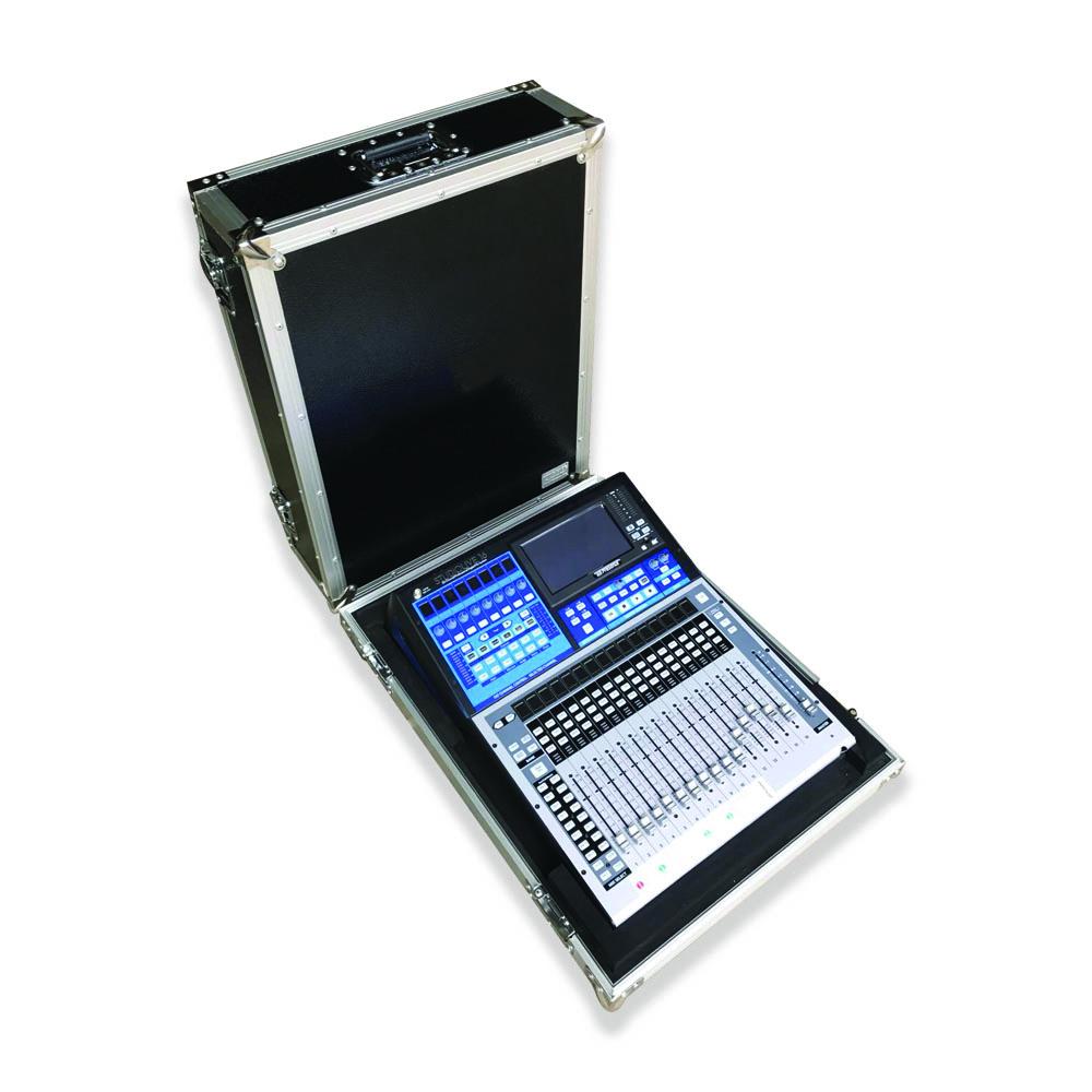 Custom aluminium flight case for PreSonus StudioLive 16 with high quality