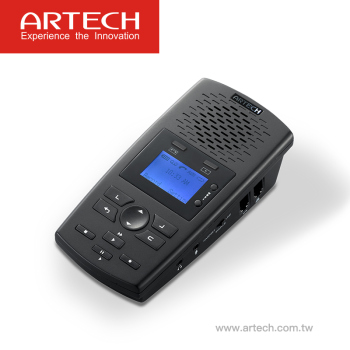 ARTECH AR120 - SD card telephone voice recorder with Answering Machine, stand-alone SD storage