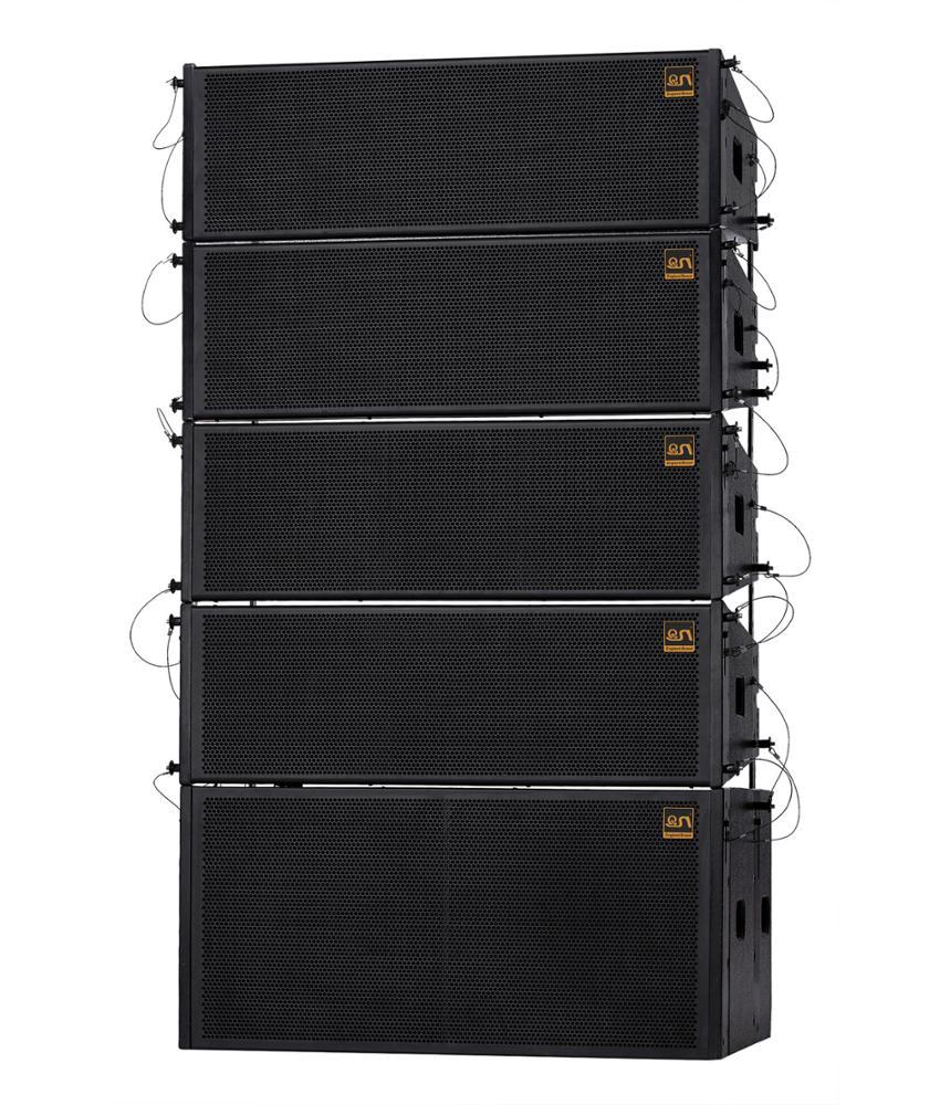 Акустическая система для концертов на открытом воздухе Уличная концертная акустическая система линейного массива
