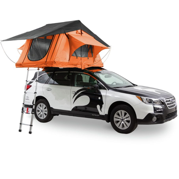 2 Person Canvas Tent Car Roof Top Tent 4wd suv used off road camping roof top tent