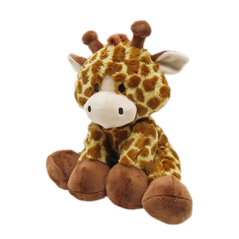 Christmas stuffed soft giraffe plush toy for children gifts