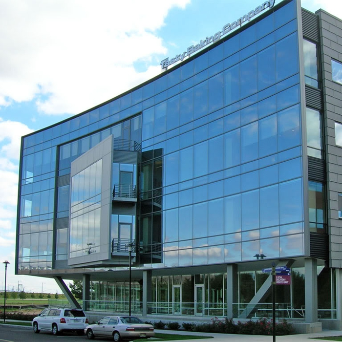double triple glazed glass panel curtain wall aluminum frame low e tempered insulated glass unit for building facade