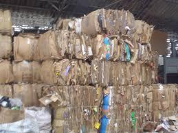 OCC Waste Paper Scraps 100% Cardboard