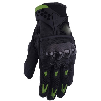 Pro-Biker Carbon Fiber Leather Bicycle Motorcycle Motorbike Powersports Racing Gloves