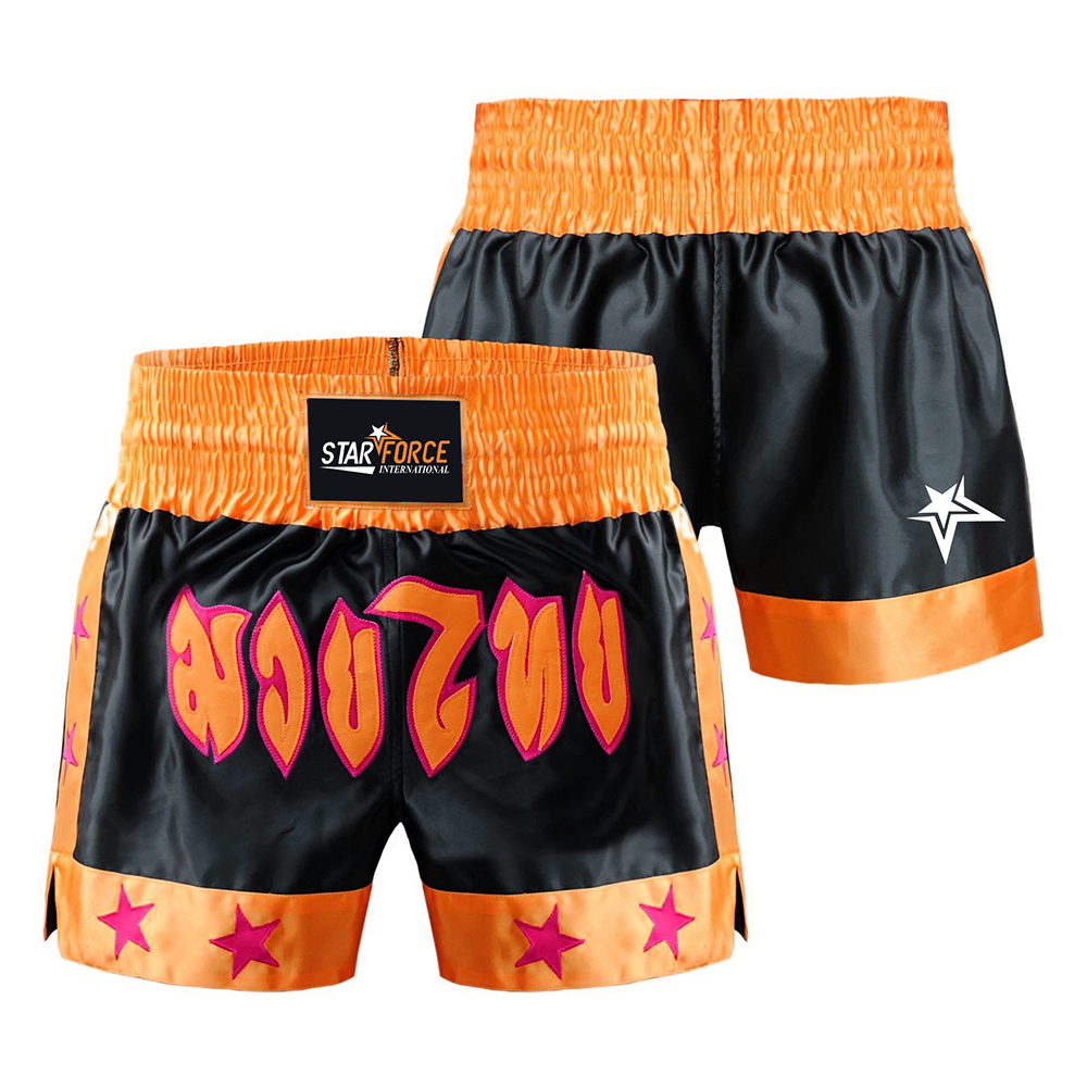 Boxing Shorts Thai Muay MMA Kick Fight Grappling UFC Cage Martial Arts Men Short