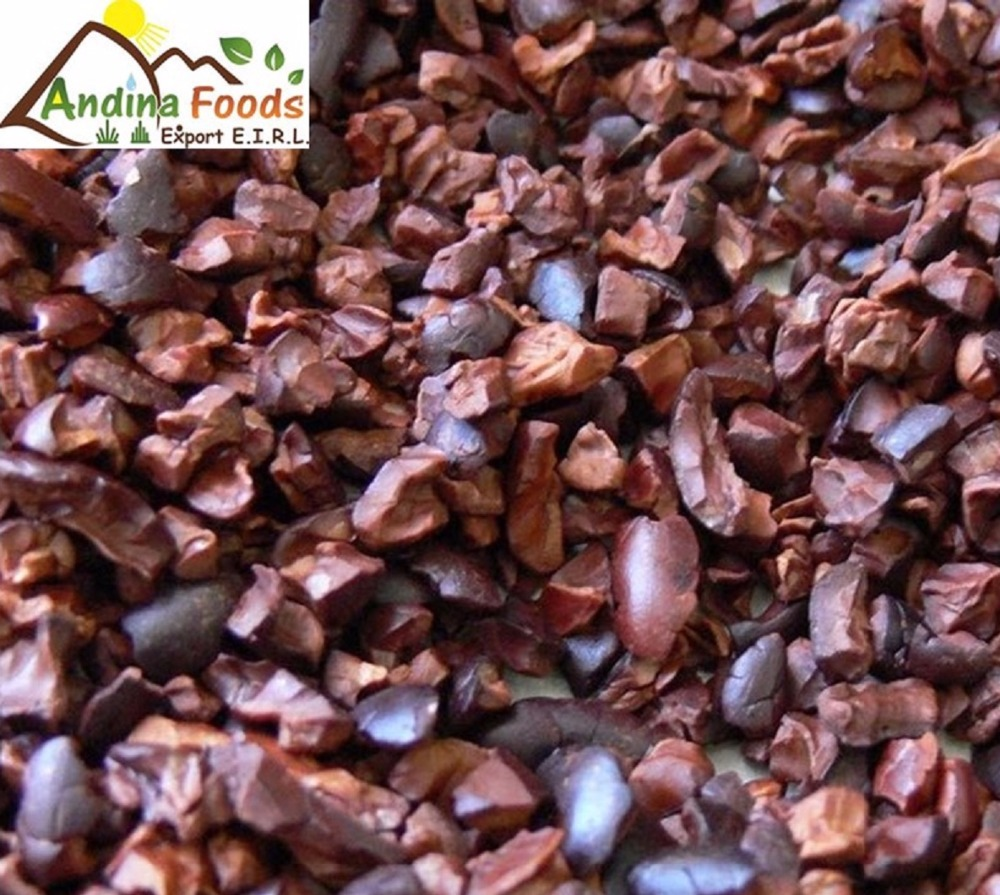 Жареные какао нибы из Перу
