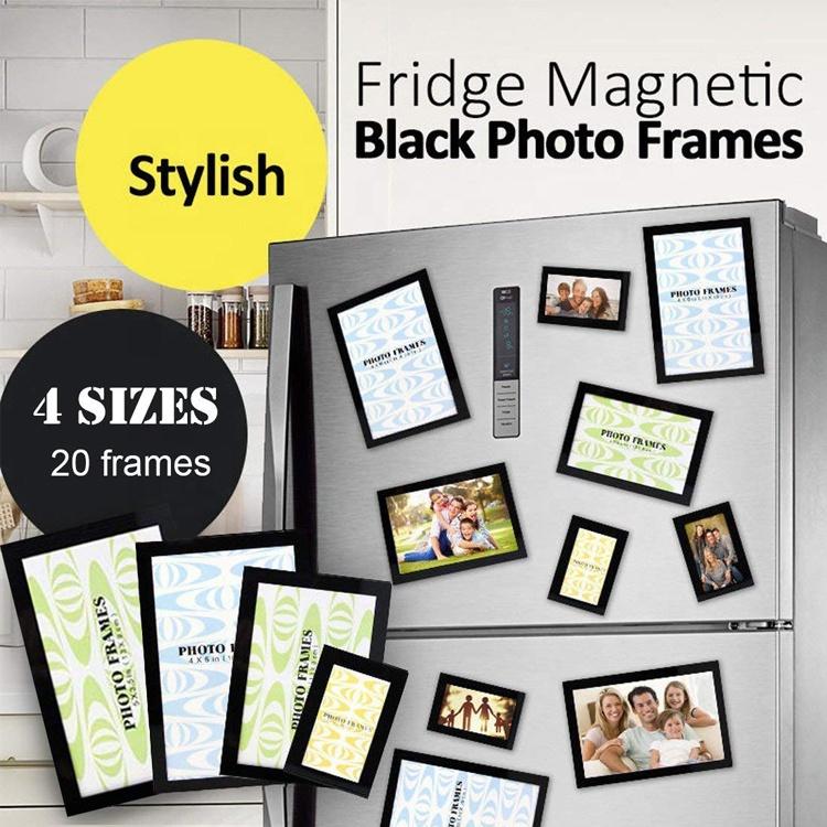 Пвх магнитные фоторамки на холодильник для подарков, бесплатный образец, Прочный 3d