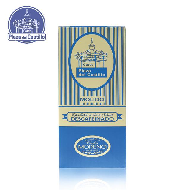 Производитель кофейных зерен без сахара (картонная коробка 250 г)-P DEL CASTILLO -   Кафе Plaza del Castillo