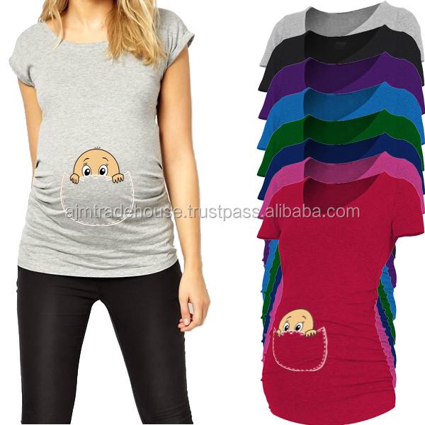 Maternal Shirt Sleeveless Maternity T Shirts Pregnancy Clothing Buy Custom Printed Hawaiian Shirt Custom T Shirt Maternity Shirt Product On Alibaba Com