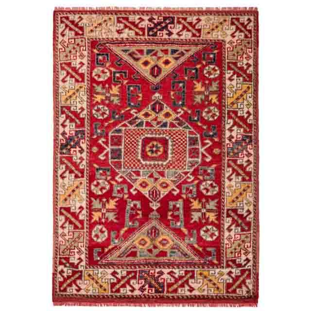 Vintage Turkish Anatolian rectangular Handwoven  Wool carpet  Pillowcase    overdye pillow