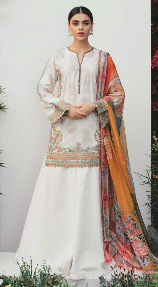 Designer Pakistani Branded Master Replica Lawn Linen Cotton Embroidered Suits