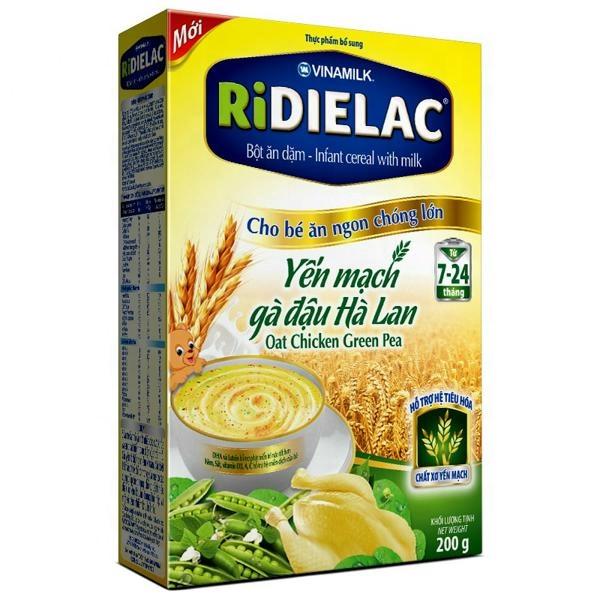 Ridielac الرضع الحبوب الشوفان دجاج بازلاء خضراء Vinamilk Buy Infant Cereals With Milk Infant Cereals Vietnam Green Peas Product On Alibaba Com