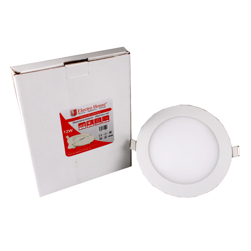 LED Panel Lights round square 12W 170mm LED Residential Lighting High lumen surface mounted round square